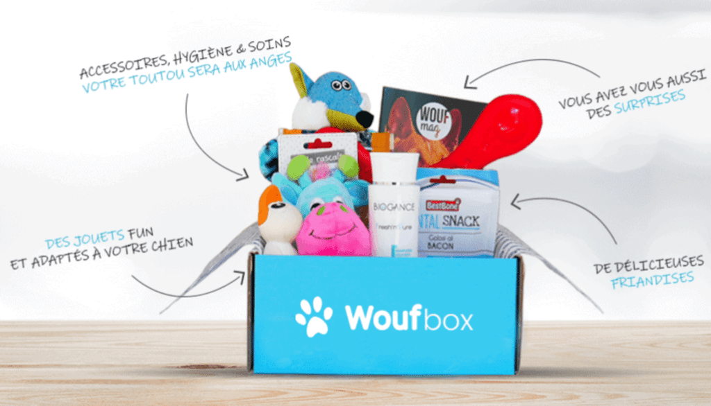 Contenu de la Woufbox