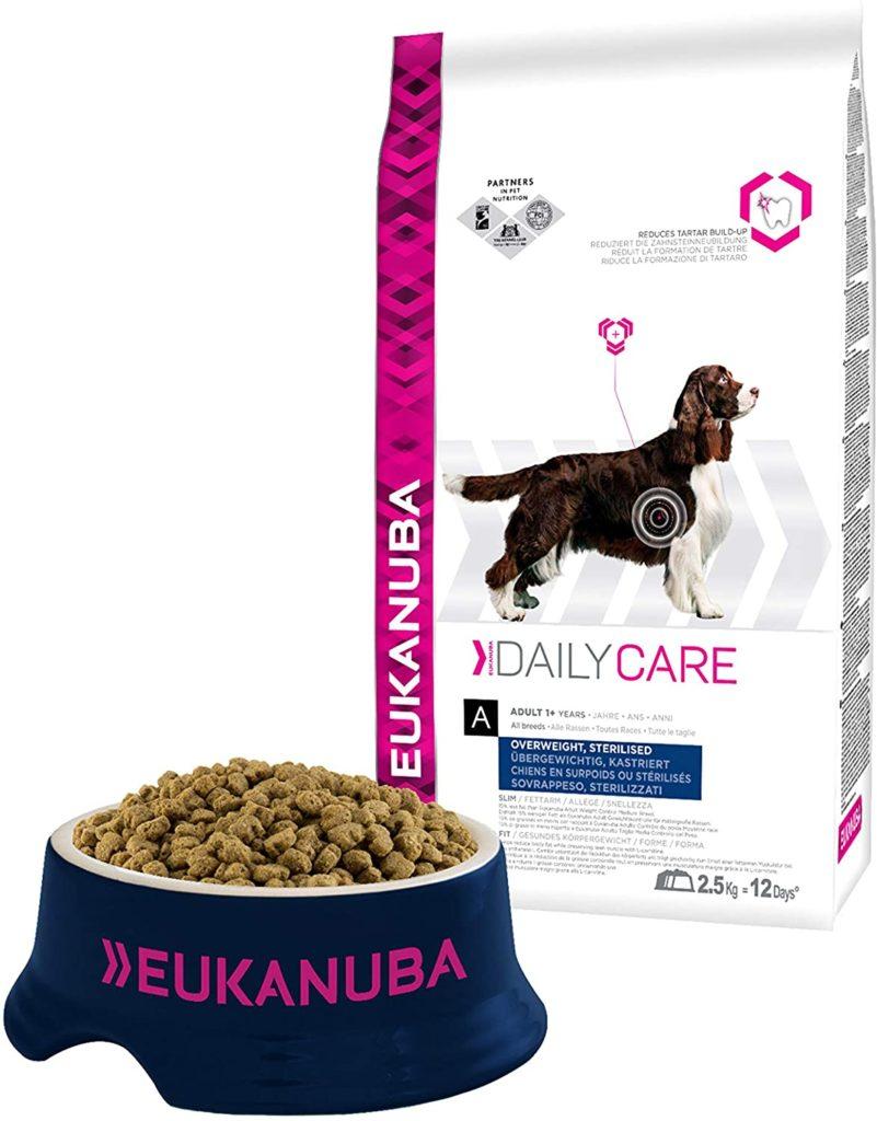 croquettes Eukanuba pour chiens stérilisés