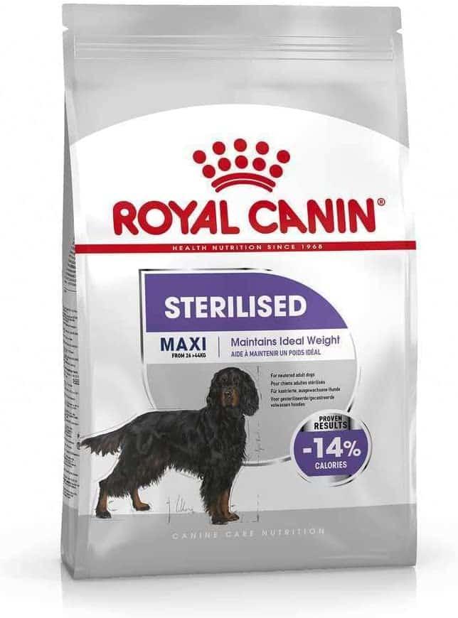 croquettes Royal canin pour chiens stérilisés